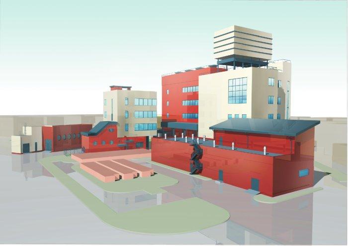 Завод Угрешка, Москва - визуализация