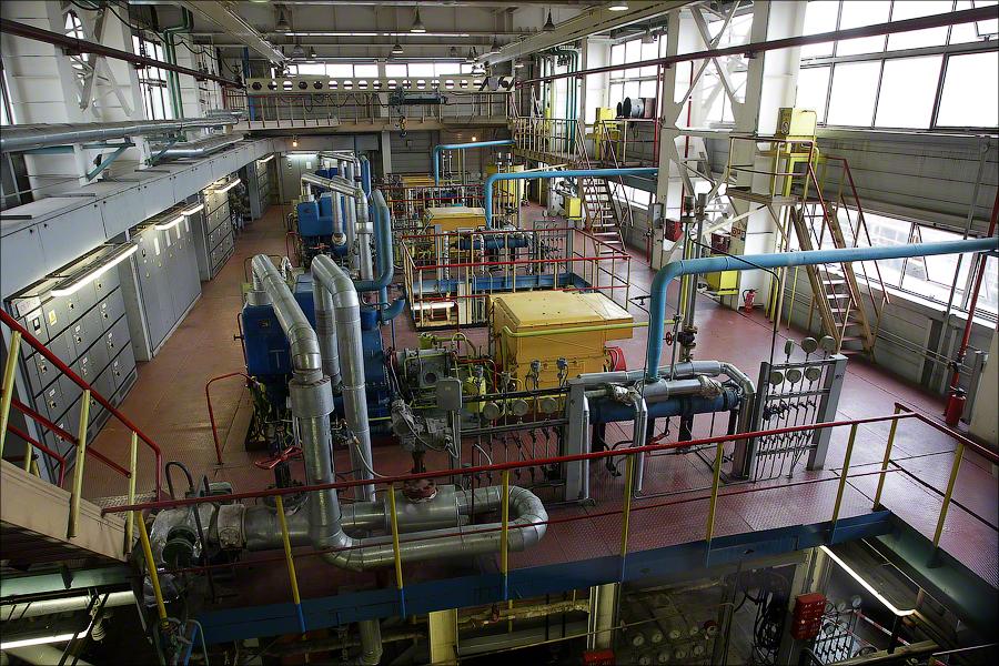 Завод 2, Москва - турбины и генераторы
