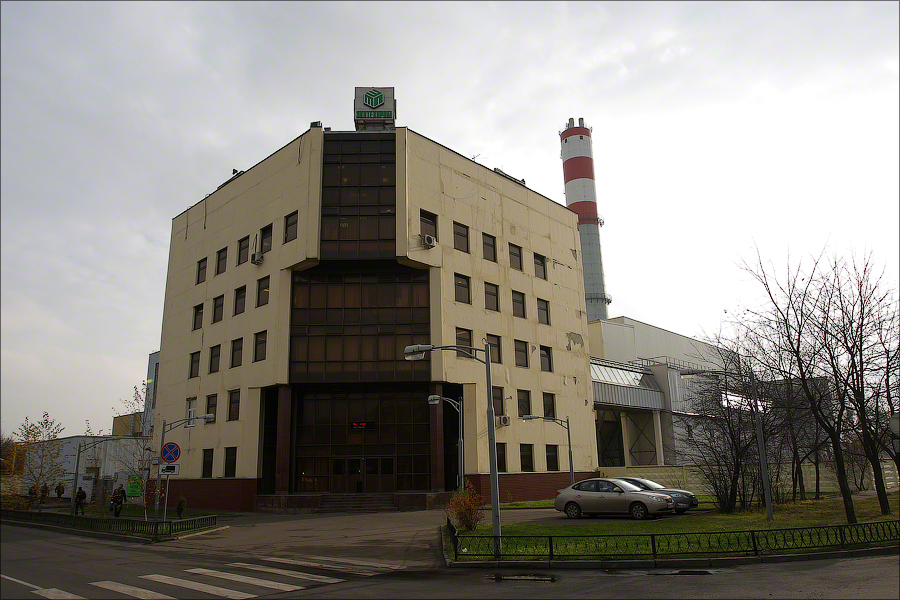 WTE Plant 2 Moscow - administrative building