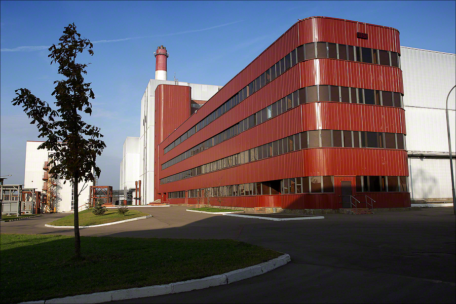 Завод 4, Москва - главное здание