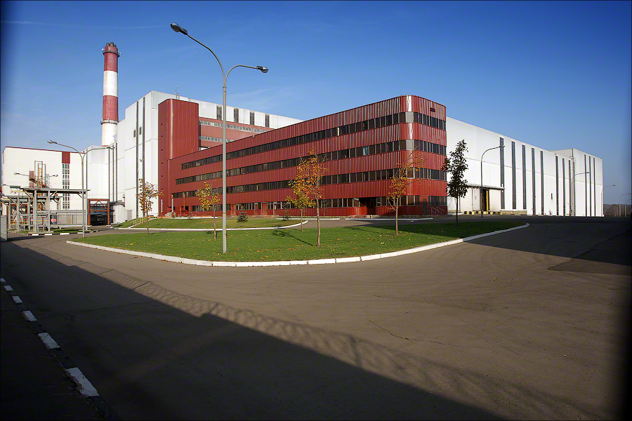 WTE Plant 4 Moscow - main building