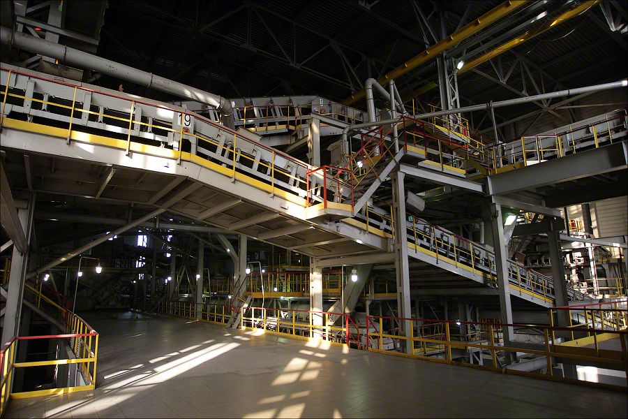 WTE Plant 4 Moscow - conveyors