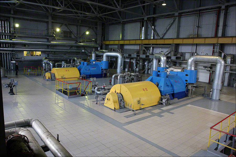 WTE Plant 4 Moscow - turbines and generators