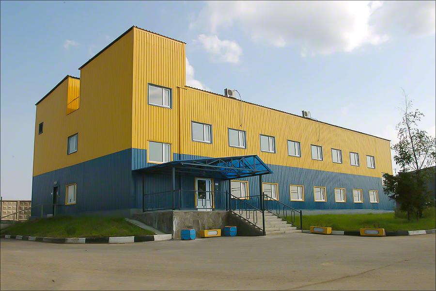 Полигон Икша - Administrative buildingадминистративное здание