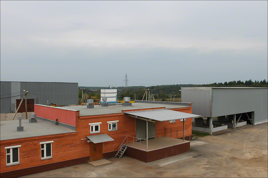 Landfill Iksha - Filtrate treatment facility