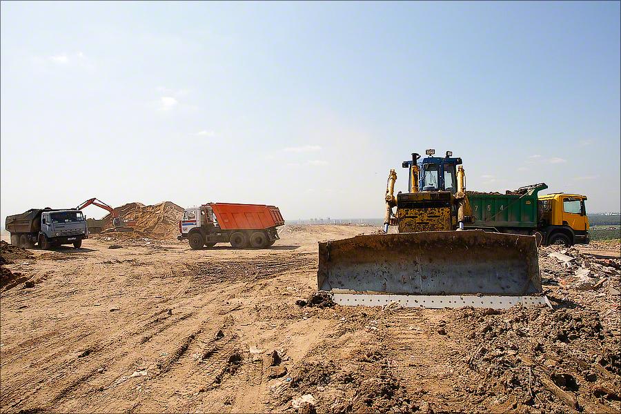 Landfill Salar'evo - Leveling