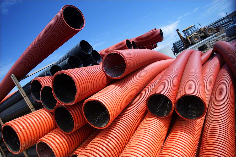 Landfill Khmet'evo - Drainage tubes