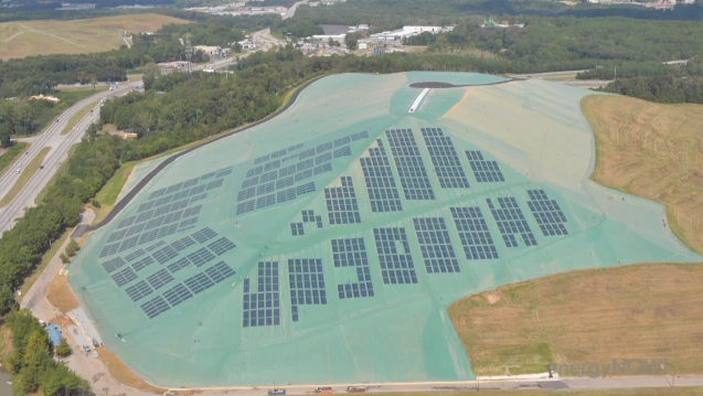 Solar Farms give new life to old landfills