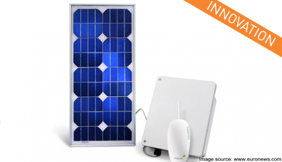 Solar panels soon to be used to detect broadband signals and allow data transmission