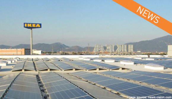 Martifer Solar delivers first unsubsidized project in Italy to IKEA