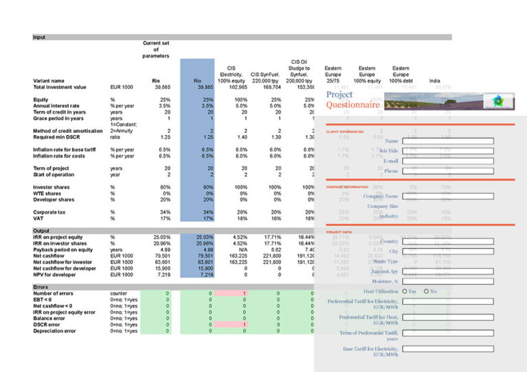 Calculate Your Project Online