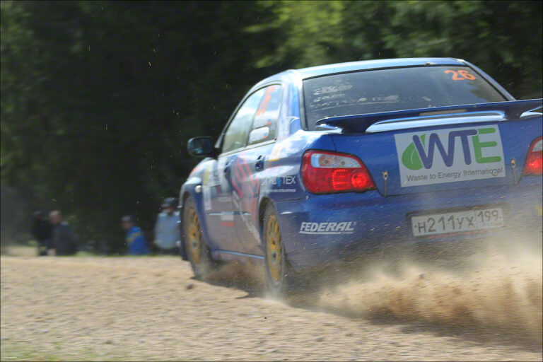 WTEI supported crew finished 10th on Russian Rally Cup
