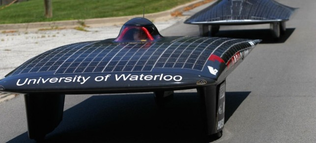 Students from University of Waterloo to build the first Cruiser-Class solar vehicle