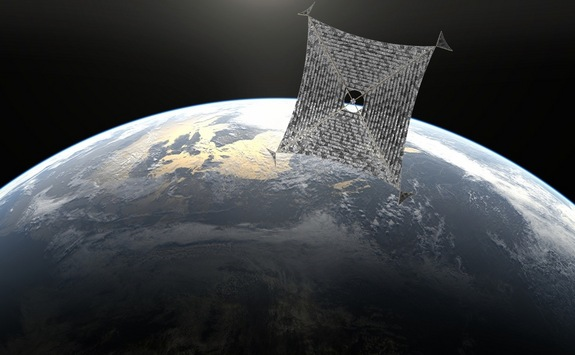 Solar sail 'Sunjammer' to better prepare the world for space weather events