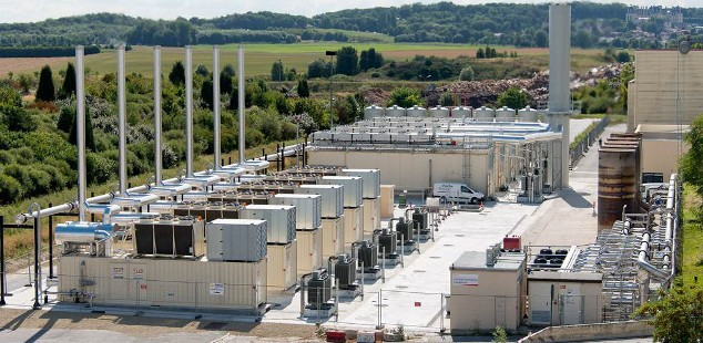 Huge 17.3 MW Landfill Gas to Energy Project Opened by Veolia in France