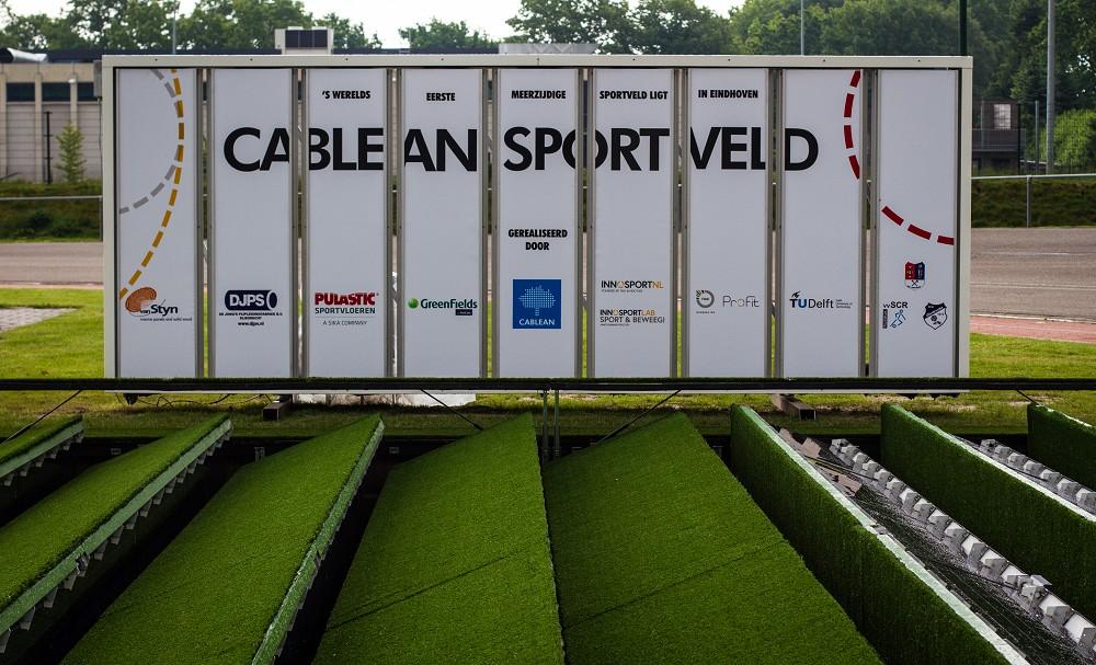 Press release Cablean sportveld