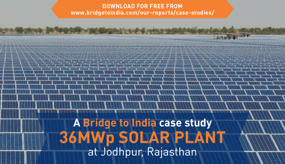 BRIDGE TO INDIA introduces the first 'SOLAR CASE STUDY'