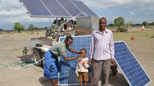 Solar-powered water filtration system 'ROSI' undergoes tests in Tanzania