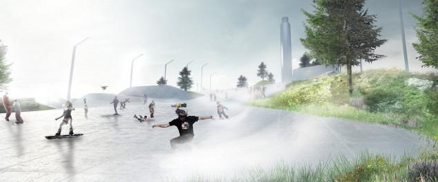 VIDEO: Architect Discusses Copenhagen's Amager Bakke Waste to Energy Ski Slope