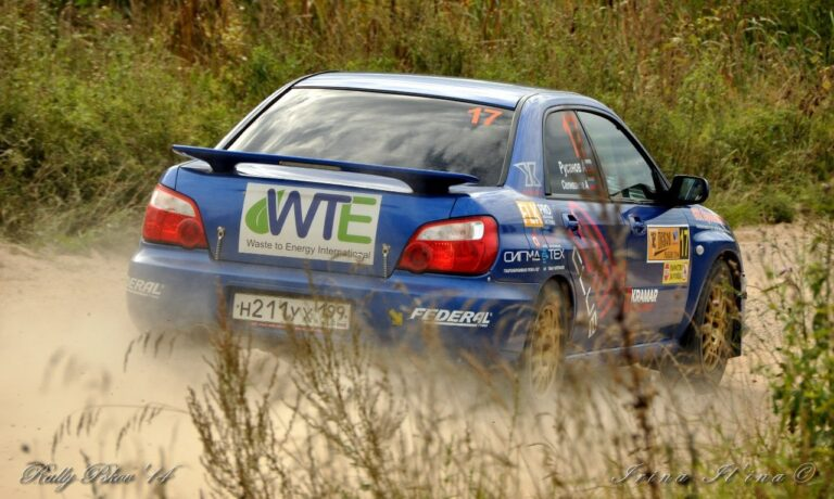13th place overall for WTEI supported A. Rusanov on Russian Rally Cup