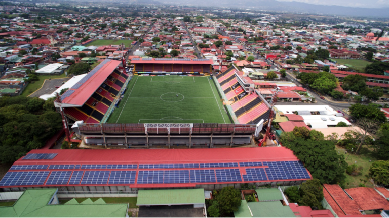 Lighting the Fields with the Sun – Central America's 1st Solar-Powered Stadium