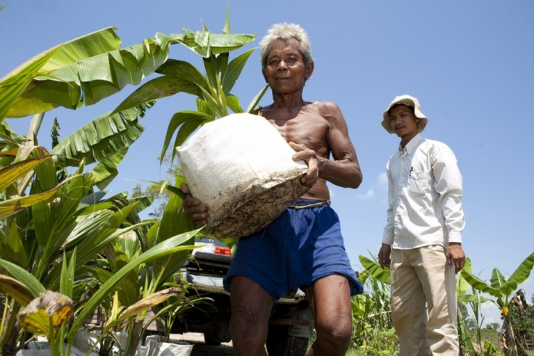 Veolia is partnering Livelihoods 3F, which supports family farming in the southern hemisphere