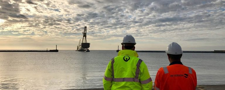 Veolia and Peterson begin decommissioning an offshore platform in the North Sea