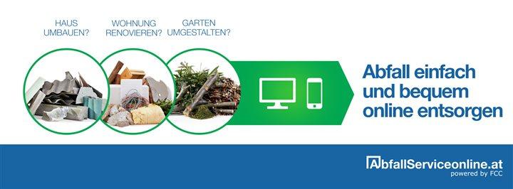 Abfall Service online – Waste management goes online!