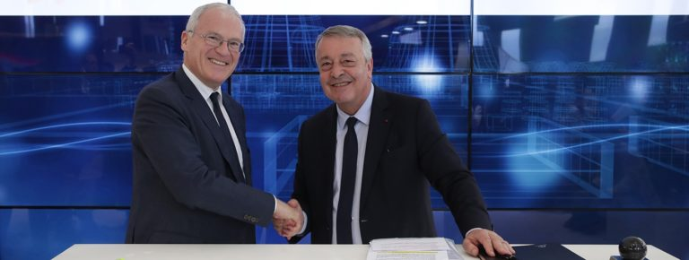 EDF and Veolia conclude a partnership agreement on nuclear plant decommissioning and radioactive waste processing