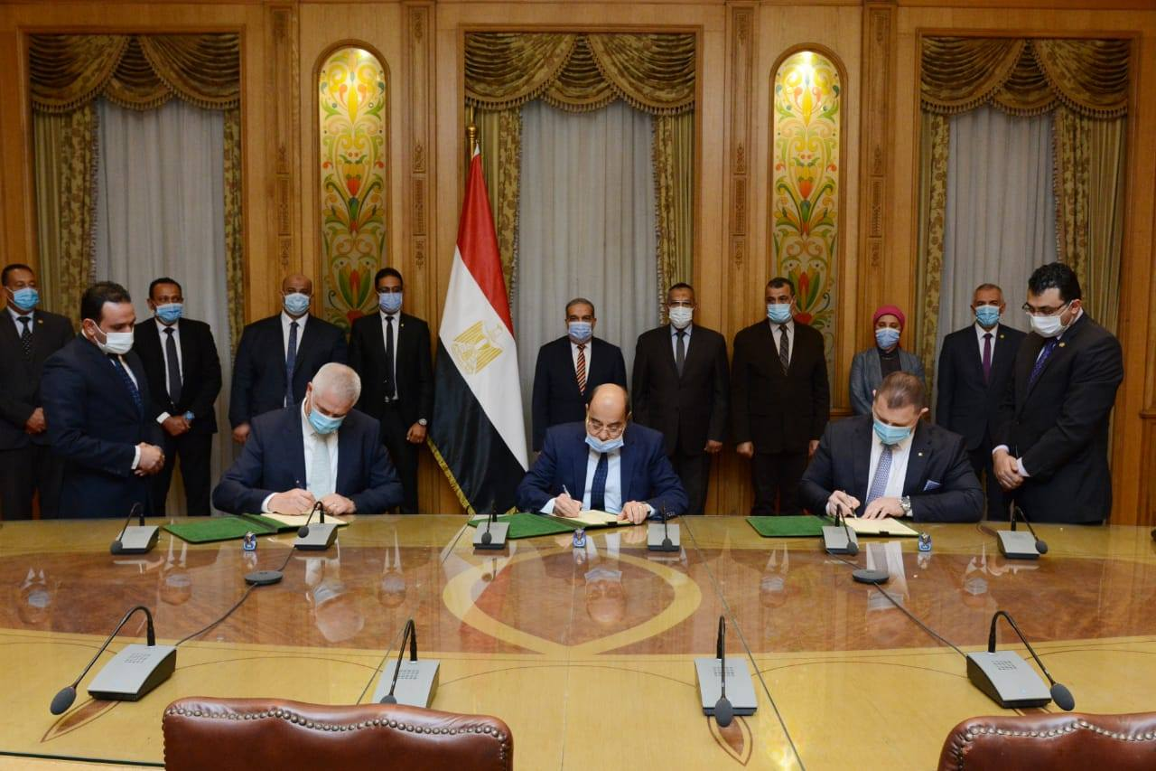 Signing of the cooperation protocol with the Ministry of Military Production.