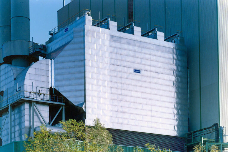 Replacement of a bag house filter for waste to energy plant in Norway, Bergen