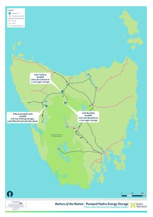 Hydro Tasmania names Lake Cethana its preferred site for new pumped storage hydro