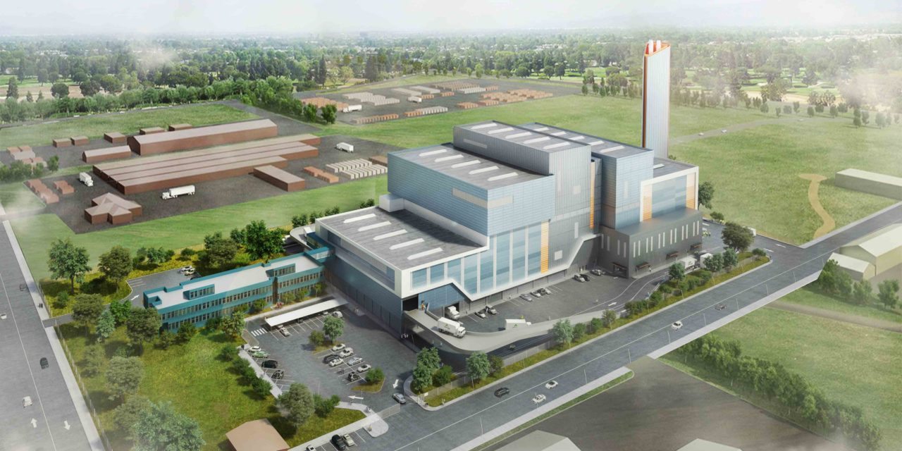 Development of waste to energy plant