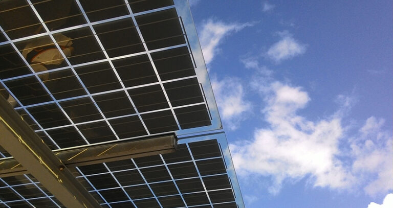 Bifacial solar panels can increase yields