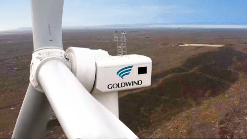 Goldwind connects 5 MW test wind turbine to the grid